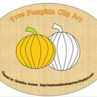 FREE: This product was created by Christina Aronen. To get the uncolored and colored pumpkins, you will need to unzip this file. These pumpkins have a tr...