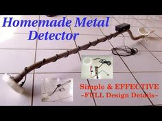 metal detector from a calculator AND A RADIO - YouTube