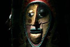 Tiki Room Totem Face - Disneyland