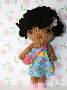 Short loopy hair doll by sweetdolls on Etsy, $28.00