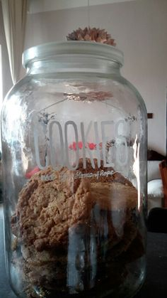 big jar of cookies