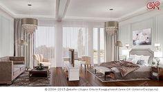 Дизайн спальни с гостиной и кабинетной зоной http://www.ok-interiordesign.ru/blog/dizayn-spalni-s-gostinoy-i-kabinetnoy-zonoy.html
