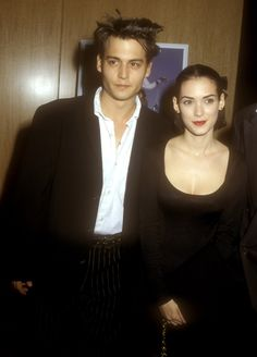 How they made such a good-looking couple, they sometimes glowed in photographs. | 21 Reasons Johnny Depp And Winona Ryder Should Get Back Together