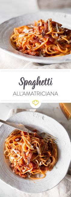 Bucatini oder Spaghetti? Pancetta oder Guanciale? Über die Zutaten des Gerichts aus Amatrice lässt sich streiten. Fakt ist: es schmeckt immer lecker.