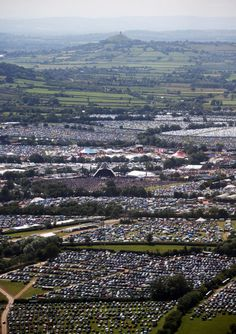 Glastonbury Festival 2013 in Pilton, Somerset. Headliners: The Arctic Monkeys, The Rolling Stones and Mumford & Sons.