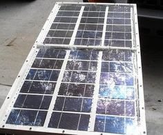 Build a 60 Watt Solar Panel  from Instructables