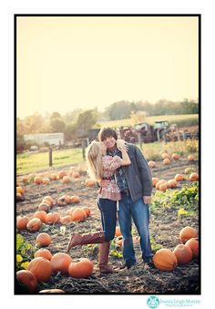 fall save the date pic idea..we have a favorite pumpkin patch, this is perfect