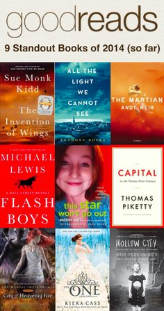 We did some top-secret calculations (most adds + stellar ratings...ssh!) and came up with the Nine Standout Books of 2014...So Far!