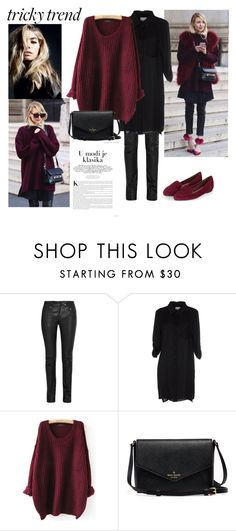 """""""Tricky Trend"""" by alien-official ❤ liked on Polyvore featuring Helmut Lang, Milly, women's clothing, women's fashion, women, female, woman, misses, juniors and TrickyTrend"""