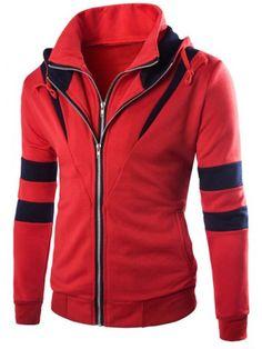 $26.47 Hooded Long Sleeve Jacket