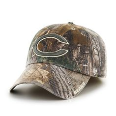 a44e1537580025 Chicago Bears 47 Brand Realtree Franchise Fitted Hat Chicago Hotels, Chicago  Restaurants, Detroit Game