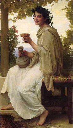 Bacchante, William-Adolphe Bouguereau