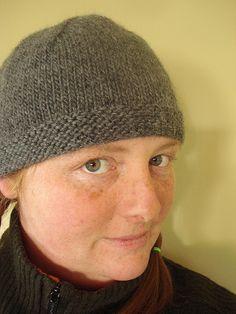 Free knit hat pattern from zigzag stitch