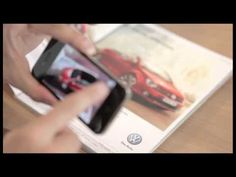 """Volkswagen Virtual Golf Cabriolet app """"Augmented Reality"""" on your smartphone"""
