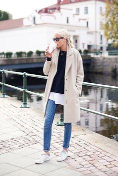 Look básico, perfeito!