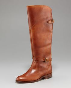 dcfc339a63 Dorado Riding Boot - Neiman Marcus Flat Leather Boots, Leather Riding  Boots, Neiman Marcus