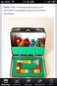 Travel Lego box - brilliant!