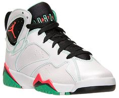 official photos bafd0 0bde7 Air Jordan 7 Retro GS White Black-Verde-Infrared 23 705417-138
