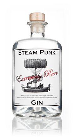 Steam Punk Gin  - Master of Malt Craft Gin, Gin Brands, Juniperus Communis, Gin And Tonic, Vodka Bottle, Liquor Bottles, Beverage Packaging, Bottle Packaging, Cocktails