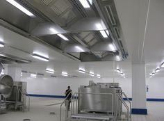 """Impianto di trattamento aria - Area preparazione e cottura, Stabilimento """"La Linea Verde"""" (Manerbio - BS)"""