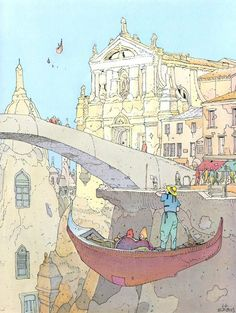 Career Timeline: 1984  A series of prints inspired by a trip to Venice