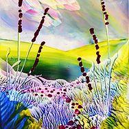 Carole Boyer Artist Encaustic wax ACEO Collectible art cards