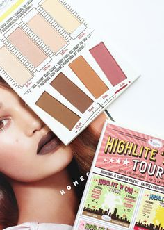 THEBALM | Highlite N Con Tour Palette - Review + Swatches - CassandraMyee