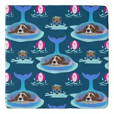 Dog Days Of Summer Trivet   baby chihuahua, chihuahua puppies teacup, baby chihuahua puppies #chihuahuasantiago #chihuahuapacifico #chihuahuapets, back to school, aesthetic wallpaper, y2k fashion Chihuahua Tattoo, Chihuahua Puppies, Flamingo Beach, Pink Flamingos, Mermaid Float, Rat Terrier, Beach Ball, Basset Hound, Hot Days