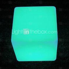 3w outdoor LED verlichting in kubieke vorm - kleur veranderen