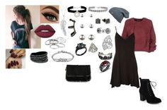 """Kat Gates 1"" by recklessly-brave-renegade on Polyvore featuring Tom Ford, Topshop, Journee Collection, Lime Crime, Penny Preville, Kenneth Jay Lane, Repossi, Accessorize, Eddie Borgo and Bling Jewelry"