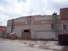 back of wyandotte theatre