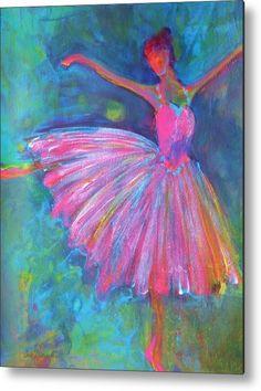Ballet Bliss Metal Print By Deb Magelssen