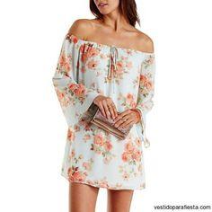Vestidos cortos sin hombros de moda casual primavera 2015 – 31 - https://vestidoparafiesta.com/vestidos-cortos-sin-hombros-de-moda-casual-primavera-2015/vestidos-cortos-sin-hombros-de-moda-casual-primavera-2015-31/