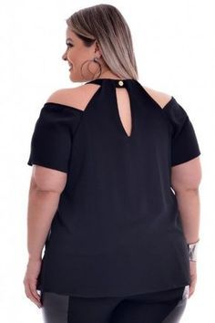 Blusa Plus Size Carmen Red