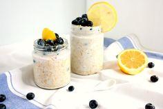 Blueberry Lemon Cheesecake Overnight Oats Recipe on Yummly. @yummly #recipe