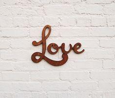 amor na parede.
