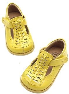Livie & Luca - Toi Toi Girl Shoes in Yellow Fall 2013