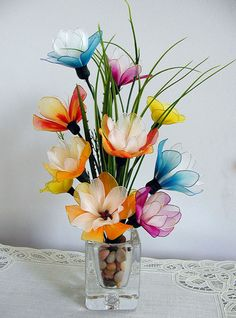 Handmade Colorful Summer Flower Arrangement