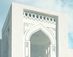 Mosque Design in Yemen - Design & Rendering Mosque Architecture, Neoclassical Architecture, Residential Architecture, Cladding Design, Oriental, Baroque Design, Cube Design, Decorative Panels, Facade House