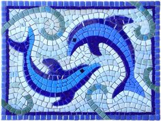 40 x 30 cm, Glass on MDF, still have to grout it Mosaic Tile Designs, Mosaic Tile Art, Mosaic Artwork, Mosaic Patterns, Mosaic Glass, Mosaics, Mosaic Animals, Mosaic Birds, Mosaic Art Projects