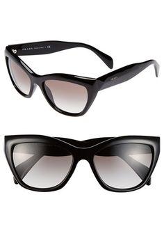 Prada 56mm Cat Eye Sunglasses available at #Nordstrom