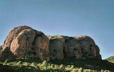 castillo de los mallos - agüero - huesca - españa