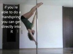 Pole Dance Tutorial: Inverted D