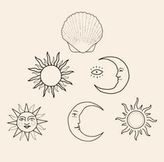 Image can include: Draw - Draw - draw diy tattoo images - tatto Kunst Tattoos, Bild Tattoos, Cute Tattoos, Tattoo Drawings, Small Tattoos, Art Drawings, Tatoos, Tiny Sun Tattoo, Tattoo Sun