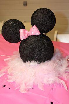 Minnie Mouse Silhouette pièce maîtresse / décoration