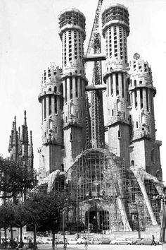 Sagrada Familia 1973
