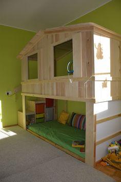 Különleges házikó, ahol minden gyerkőc szívesen elaludna