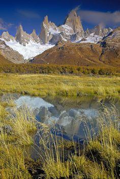 Mount Fitz Roy, Los Glaciares National Park, Patagonia, Argentina.