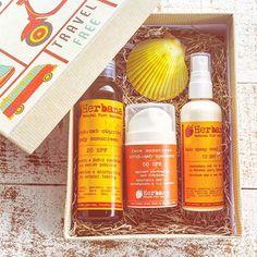 Updates from HerbanaCosmetics on Etsy Organic Beauty, Organic Skin Care, Natural Skin Care, Natural Sunscreen, Organic Lifestyle, Organic Living, Travel Kits, Natural Life, Natural Cosmetics