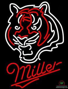 Miller Cincinnati Bengals Neon Sign NFL Teams Neon Light